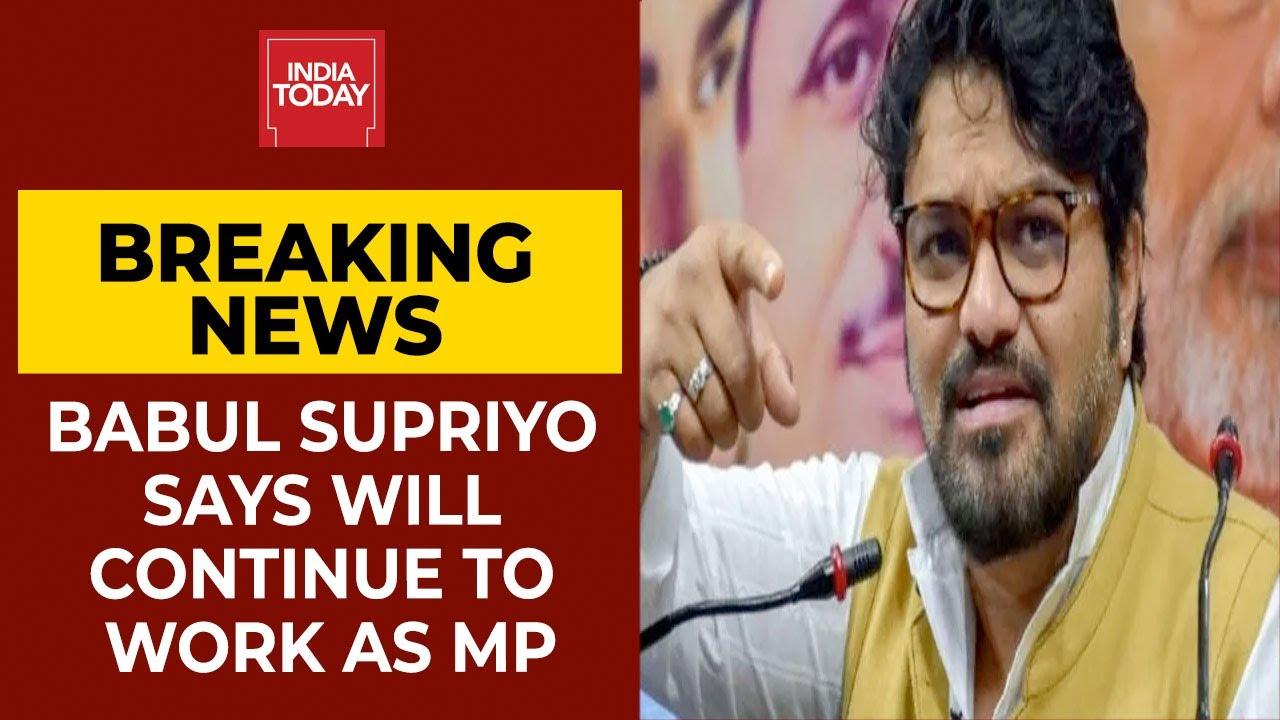 Babul Supriyo Meets JP Nadda, Says Will Continue To Work As MP From Asansol  Breaking News