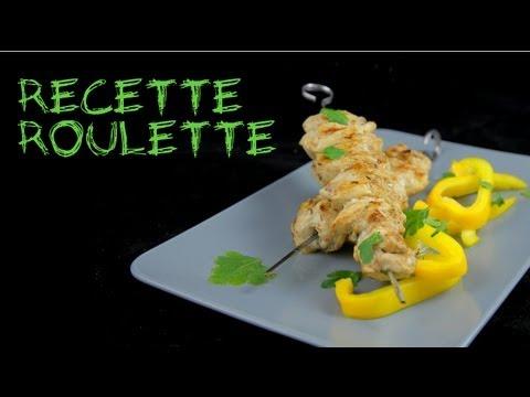 Recette : Chich taouk (brochettes de poulet)