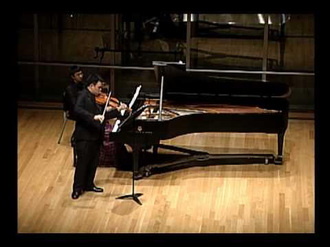Bartok Sonata no. 1 for violin and piano,  II.  Adagio part 2