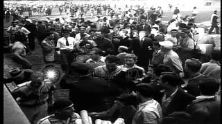 Full house stadium for a baseball game between the St. Louis Cardinals and Brookl...HD Stock Footage