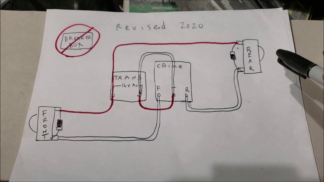Wiring Diagram For A Doorbell from i.ytimg.com