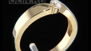 Каталог свадебных колец с бриллиантом
