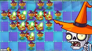 Plants Vs Zombies 2: Pinata Party Halloween Plants Jack O' Lantern!