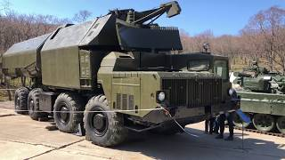 The Rubezh military coastal missile system