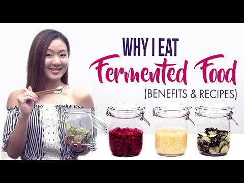 Why I Eat Fermented Food (Not Raw!) | 3 Fermented Vegetable Recipes | Joanna Soh |