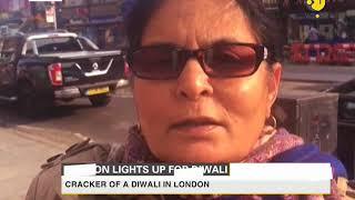 London lights up for Diwali