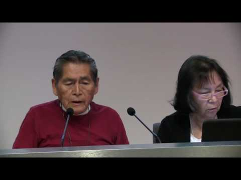 Dreamers Conference Vernon & Becky Masayesva Hopi Elders Speak Sacred Water Trust W Credits Movie