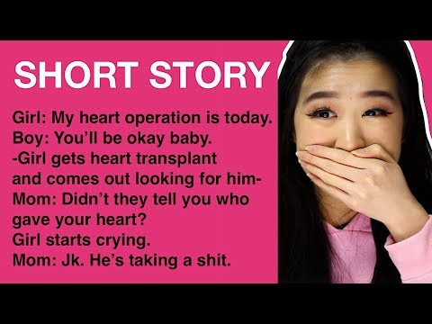 REACTING TO SHORT FUNNY STORIES!