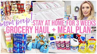 *NEW HUGE GROCERY HAUL + MEAL PLAN WITH ME! MOM PREP STAY AT HOME SHOPPING LIST PLANNER! Brianna K