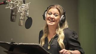 Kelly Clarkson UGLY DOLLS live recording for the movie