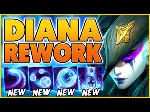 *REWORKED* RIOT BROKE DIANA (E IS NOW ULTIMATE) - BunnyFufuu