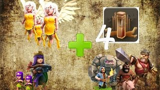 Clash of clans - AW + Max AT + GoHog