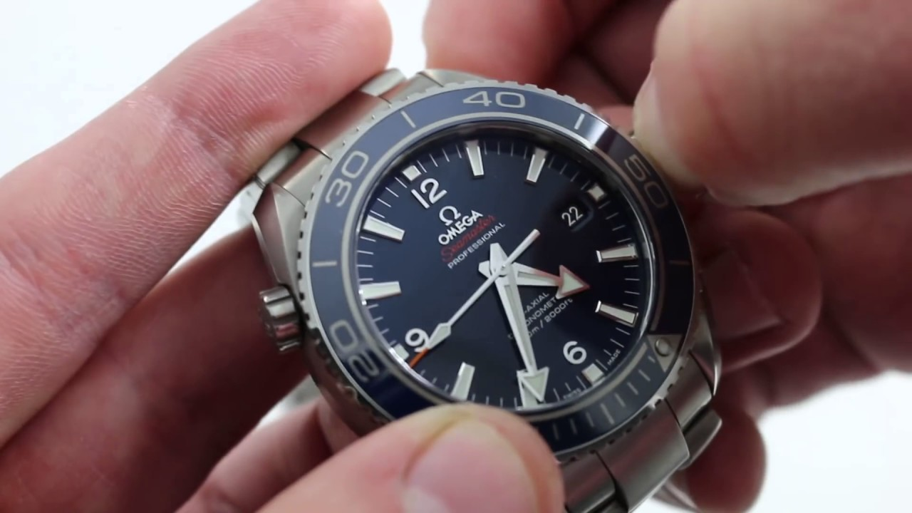 c2a0b15c56d Omega Seamaster Planet Ocean 600M Co-Axial Ref. 232.90.46.21.03.001 Watch  Review