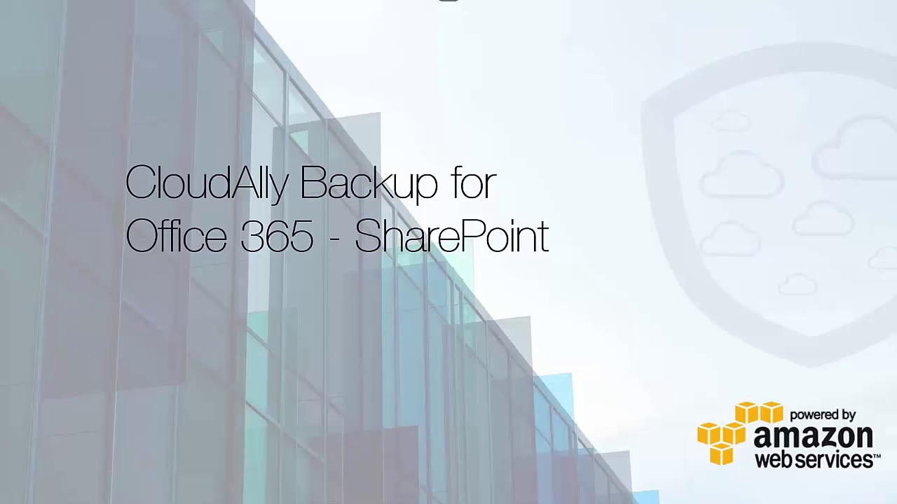 Backup SharePoint Online/OneDrive for Business  SharePoint