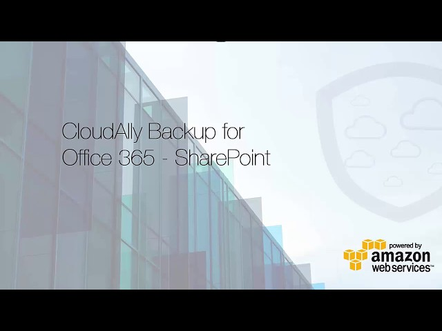 CloudAlly SharePoint Online Backup Activation