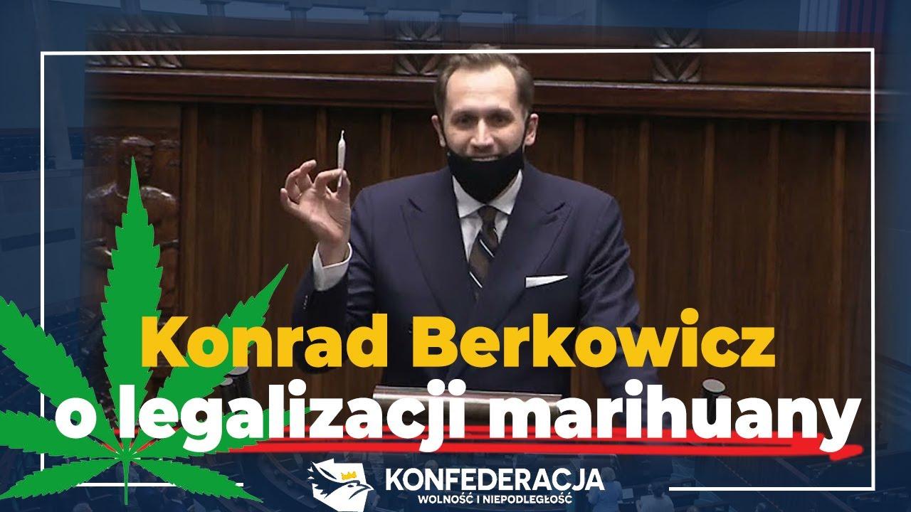 Berkowicz z jointem w Sejmie
