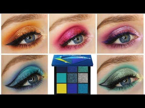 HUDA BEAUTY PRECIOUS STONES OBSESSIONS PALETTES   1 Tutorial w/ Each Palette + Review!