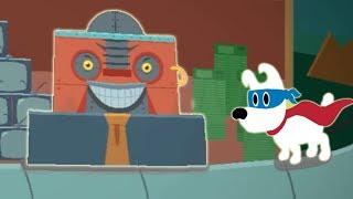 Собачка Мимпи спасает лес от злой фабрики. #6. mimpi мультик игра для детей