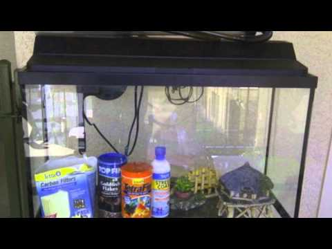55 gallon fish tank 40 vs 55 gallon aquarium kit review for Fish tank cleaning kit