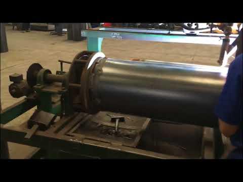 Prima supply  rolling , welding , punching machines to Indonesia Gastank maker