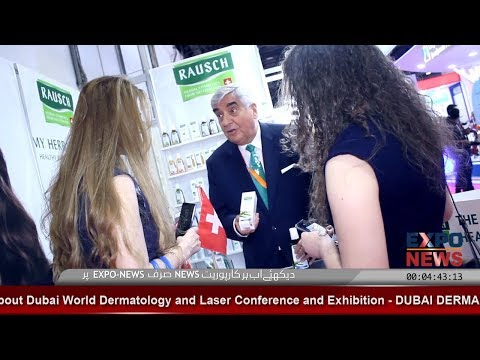 RAUSCH Switzerland | Original Herbal Cosmetics | Dubai Derma 2018 | DWTC | Expo News
