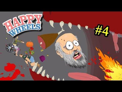 [EP.4]Happy Wheels | เมื่อสัตว์ประหลาดบุกโลก หนีเร็ว!!! zbing z.