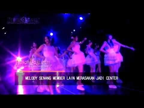 Melody Dukung Shania Jadi Center JKT48
