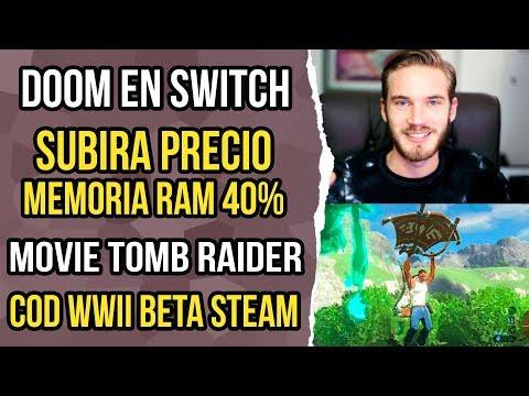 Noticias de video juegos 36 - Youtube red, precio RAM, doom switch.