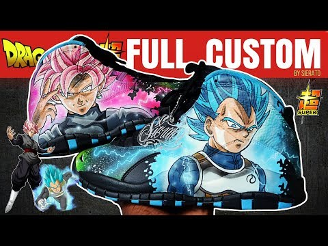 Full Custom | Jack Kellys Dragon Ball Super Jordan 10s  by Sierato