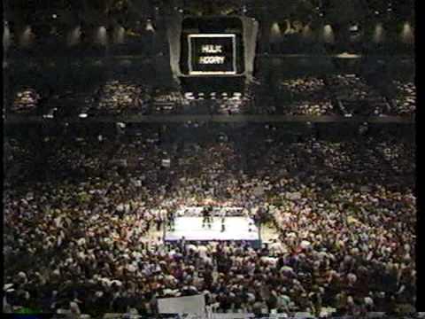 philadelphia spectrum wrestling 1986 hulk hogan vs king