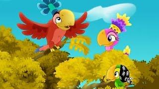 Джейк и пираты Нетландии - Попугай Капитана Крюка/Падение острова небесных птиц! - Серия 24,Сезон 1