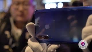 三星Galaxy A8s Hands On上手:体验全球首款屏下镜头手机   凰家现场