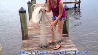 Guide to Throwing a Cast Net   Easy Enough For a Girl