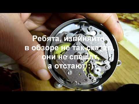 Часы дорожный будильник ЕЧЗ Ереванский часовой завод 1957 года Раритет обзор