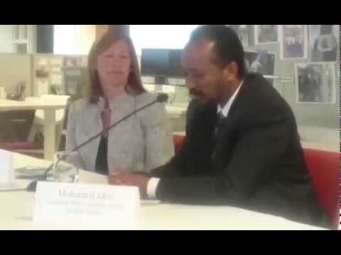 Panel Discussion: Drought in Somalia and the effects of proposed US foreign Budget cuts.