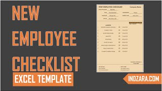 We take a tour of the new employee checklist template in this video. excel is designed to document completion activities checklist. hr ...