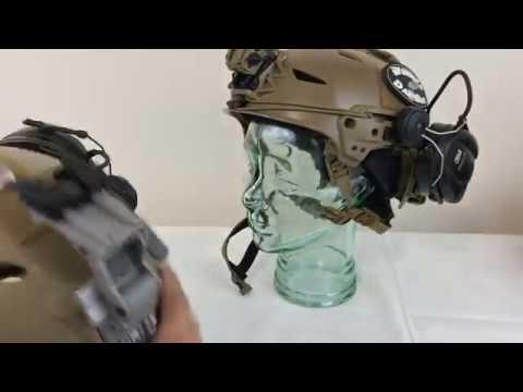 Team Wendy LTP vs OpsCore FAST Bump Helmet with night vision setups
