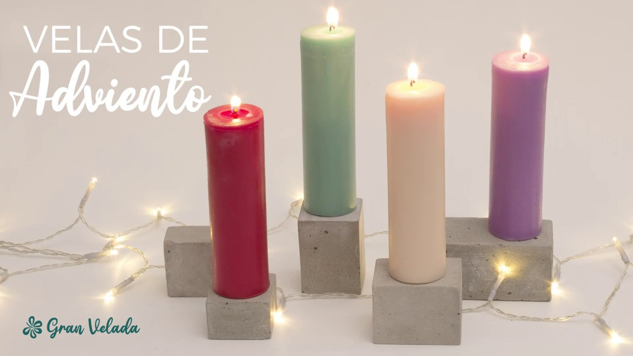 Velas De Adviento Youtube