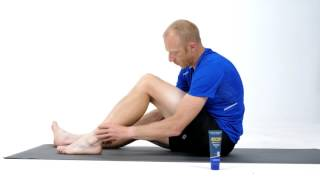 Auto massage mollet // crème - huile de massage // Aptonia Decathlon