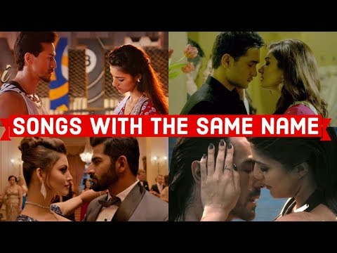 Songs With The Same Name -  Which Bollywood Song Do You Like The Most?