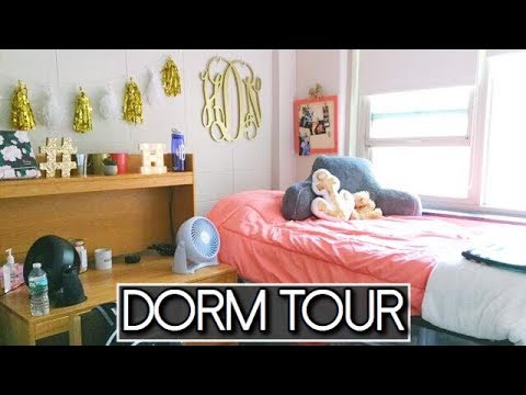 FRESHMAN COLLEGE DORM ROOM TOUR (Bridgewater State University | Shea Durgin)