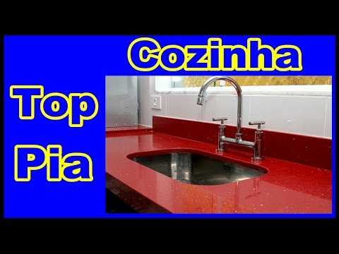 As Pias de Granito e  marmore mais bonitas do mundo/ pia de cozinha de granito- You Tube