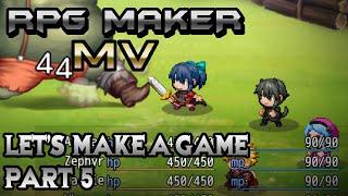 RPG Maker MV: Suddenly BOSS TIME! (Let's Make a Game! Pt-5)