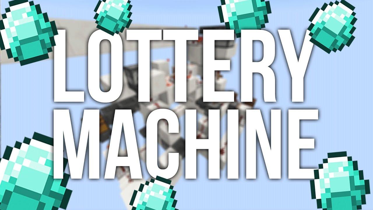 minecraft lottery machine