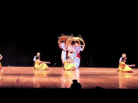 FeTNA 2011 Kavadiyattam By Carolina Tamil Sangam