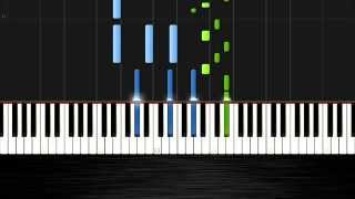 Clean Bandit - Rather Be - Piano Cover/Tutorial by PlutaX - Synthesia