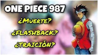 ONE PIECE 987: EL CAPÍTULO QUE HIZO LLORAR AL EDITOR DE ODA - One Piece Debate