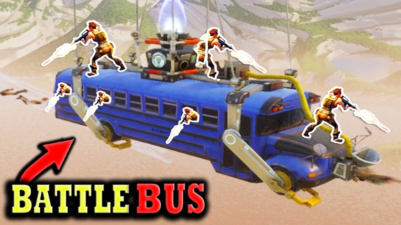 Fortnite Funny And Wtf Moments Battle Bus Battle Royale