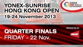 QF - MS - Tommy Sugiarto vs. Wang Zhengming - 2013 Hong Kong Open