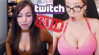 Twitch Girl FAILS Banned STREAMS +18 ULTIMATE Twitch Girl Streams  Compilation Twitch Fails